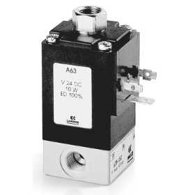 3/2-way NC and NO solenoid valve, G1/8 - Mod. 638 and Mod. 648