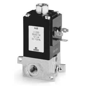 3/2-way NC solenoid valve - Mod. 638M and Mod. 63CM