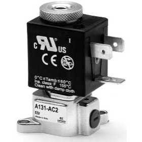 3/2-way solenoid valve Mod. A131 with swivel interface