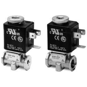 2/2 and 3/2-way solenoid valves Mod. A32 and Mod. A33