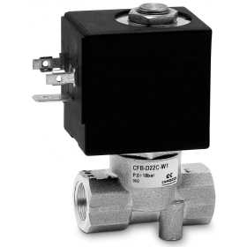 Directly operated 2/2 NC - NO and 3/2 NC solenoid valve