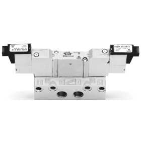 Electropneumatically actuated valve, bistable - size 10,5