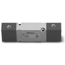 Bistable pneumatic valve with outlets on sub-base - size 16