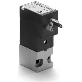 2/2-way NC solenoid valve, rear pneumatic interface