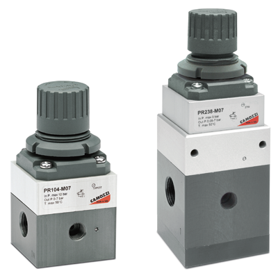 Series PR precision regulators