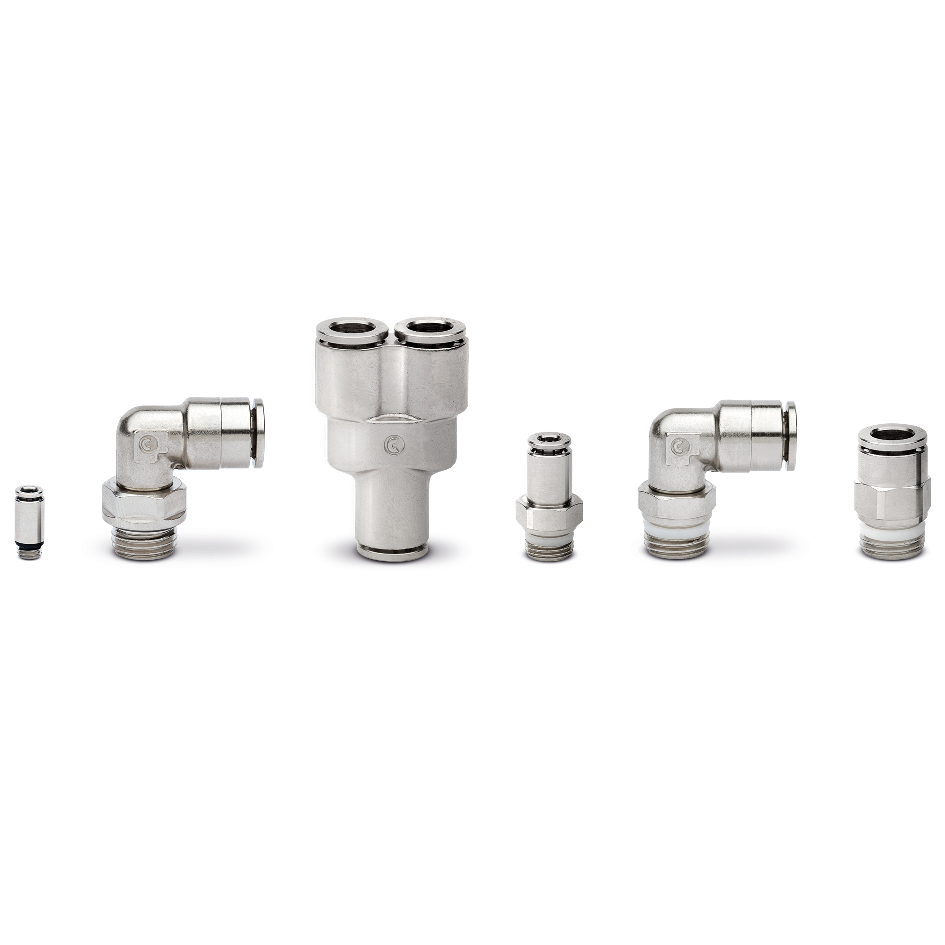 Series 6000 brass super-rapid fittings