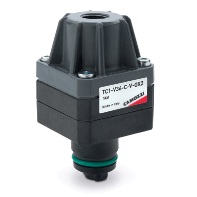 Series TC cartridge shut-off micro-valves