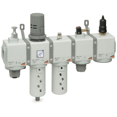 Series MX modular FRL units