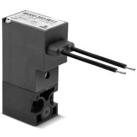 3/2-way NC solenoid valve with cables of 300mm